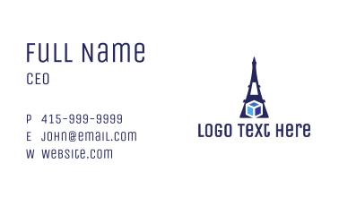 Eiffel Cube Business Card