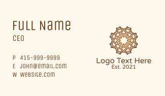 Geometric Creative Agency Business Card