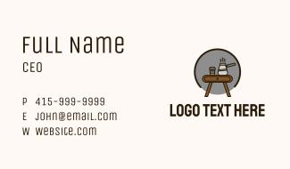 Barista Coffeehouse Business Card
