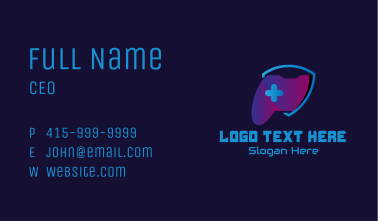 Game Controller Shield  Business Card