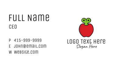 Apple Kids Toy Business Card