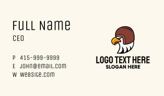 Eagle Travel Helmet Business Card