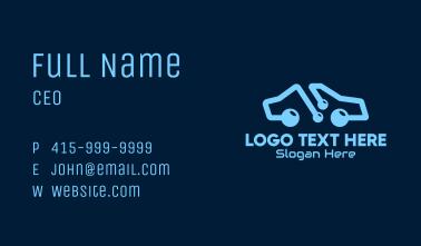 Modern Car Store Business Card
