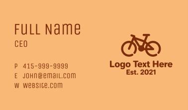 Monoline BMX Bike  Business Card