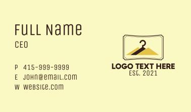 Hanger Mountain Retail Business Card