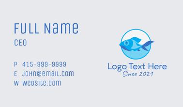Fish Aquarium Pet  Business Card