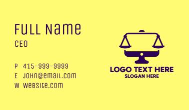 Digital Law Business Card