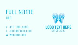 Geometric Dental Care  Business Card