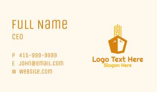 Wheat Grain Ship Business Card