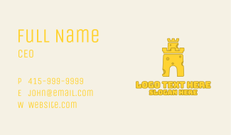Cheese Fortress Business Card