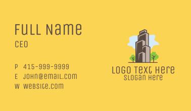 Suburban Real Estate Builder  Business Card