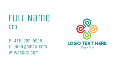 Colorful Community Organization Business Card