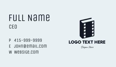 Movie Book Business Card