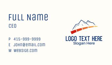 Mountain Power Meter Business Card