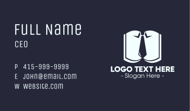 Employee's Manual Business Card