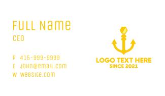 Honey Anchor Business Card