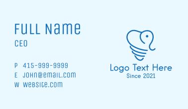 Elephant Dental Clinic  Business Card
