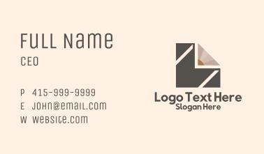 Letter M Pencil Tutorial  Business Card