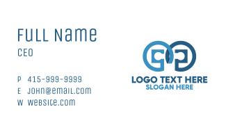 Tech Owl Eyes Business Card
