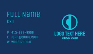 C & D Monogram Business Card