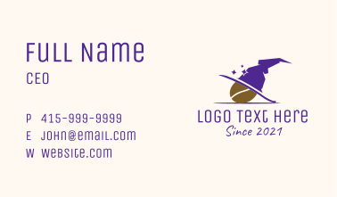 Magical Hat Cafe  Business Card