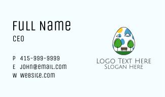 Egg Park Business Card
