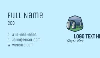 Stonehenge Tourist Spot Business Card