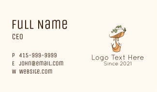Healthy Carrot Juice Business Card