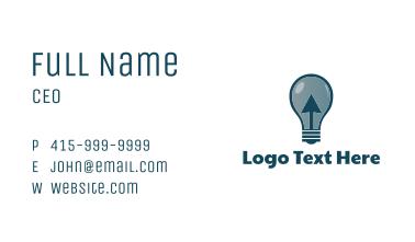 Click & Light  Business Card