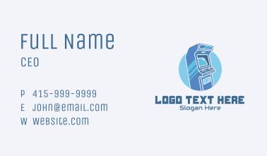 Retro Arcade Video Game  Business Card
