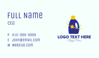 Star Cleaning Supplies Business Card