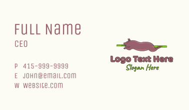 Roasted Pig Business Card