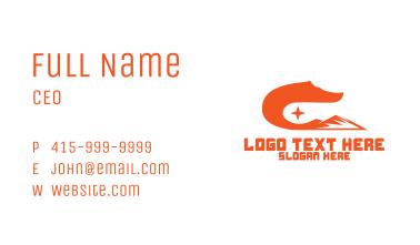 Fox Tail Mountain Business Card