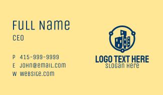 Digital Property Development Business Card