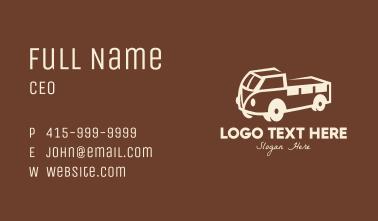 Vintage Farm Truck Business Card