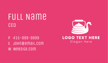 Kettle Swan Business Card