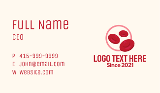 Red Blood Cells Business Card