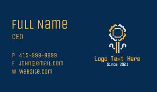 Code Flower Technology Business Card