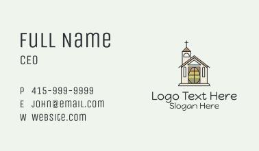Church Egg Business Card