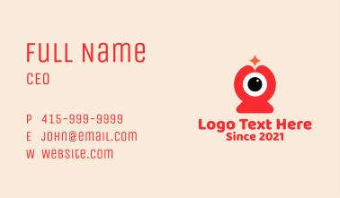 Online Class Webcam  Business Card