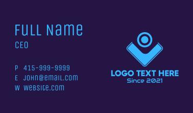 Webcam Tech Gadget  Business Card