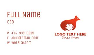 Orange Fox Business Card