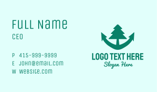 Anchor Tree Business Card