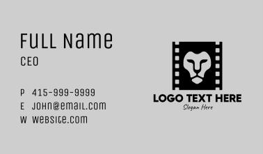 Lion Film Production Business Card