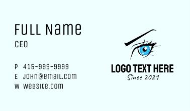 Eyelash Extension Salon Business Card