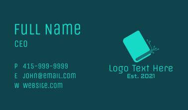 Digital Book Circuit  Business Card