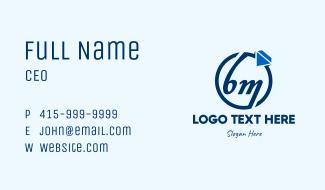 BM Jewelry Shop Business Card