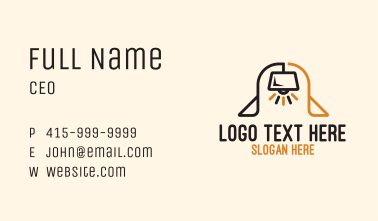 Lamp Arch Business Card