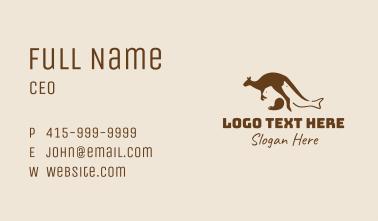 Australia Wild Animals  Business Card
