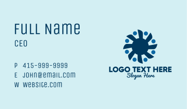 Boat Propeller People Business Card